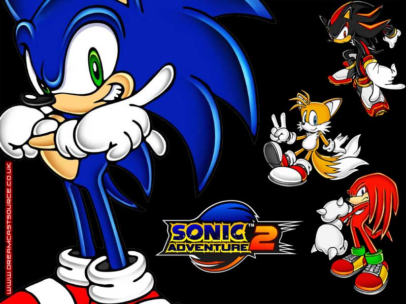 Sonic adventure dreamcast wallpaper